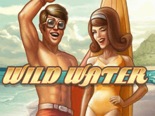 Онлайн-автомат Дикая Вода в Вулкан